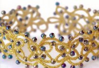 The magic of the age of Enlightenment - tatting, schema decoration