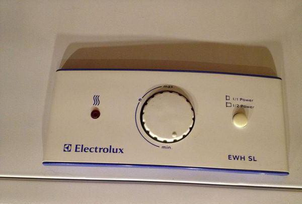 water heater electrolux ewh 50 sl