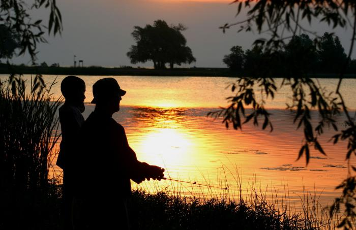 fishing in the Bryansk region'ove