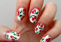 Manicure with fruits: interesting ideas