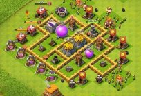 Clash of Clans: Training for beginners. The base plan Clash of Clans