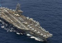 How many aircraft carriers in the US? Names and types of American aircraft carriers