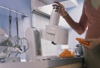 Food processor Bosch MUM 4855: overview, manual