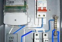 Wiring diagram for RCD without grounding: the manual
