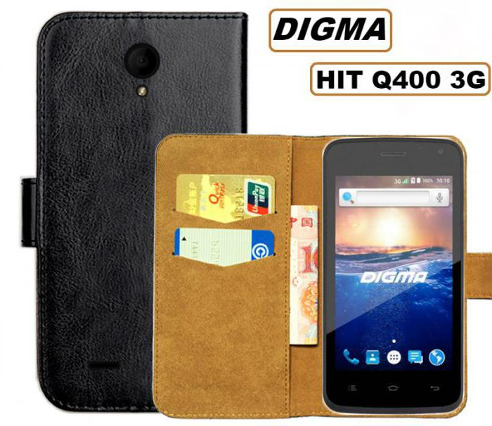 smartphone digma hit 3g q400 white reviews