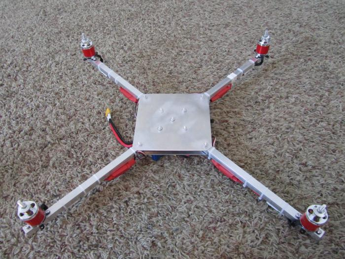 Manage quadcopter