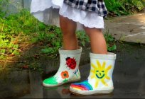How to choose rubber boots for kids?