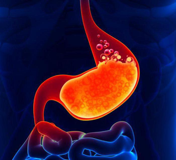 nutrition with acute gastritis with high acidity