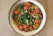 Buckwheat with tomatoes and onions: recipes