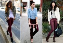 Where to wear Burgundy pants? What to wear with maroon pants?
