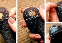 How to mend wool socks all the rules