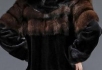 Scandinavian mink. Fashionable fur coats of mink Scandinavian