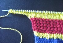 Ways of recruitment of the loops on the needles – three plus one
