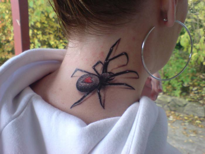 spider tattoo value