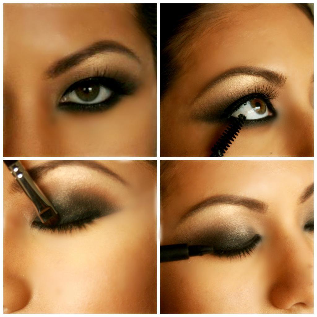 Wunderbar Augen Make Up Schritt Für Schritt Galerie Von Make-up Für Photo