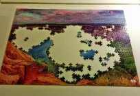 The big puzzle: how many parts, how to assemble. Complex puzzles