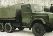 4334 ZIL — reliable medium-duty vehicle with the wheel formula 6 x 6