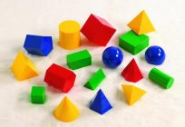 Geometric shapes for kids: games and educational AIDS