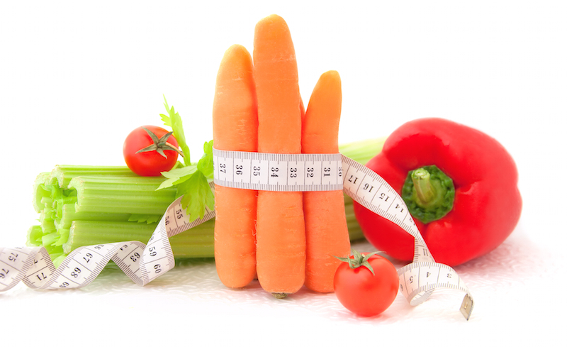 losing Weight with vegetables