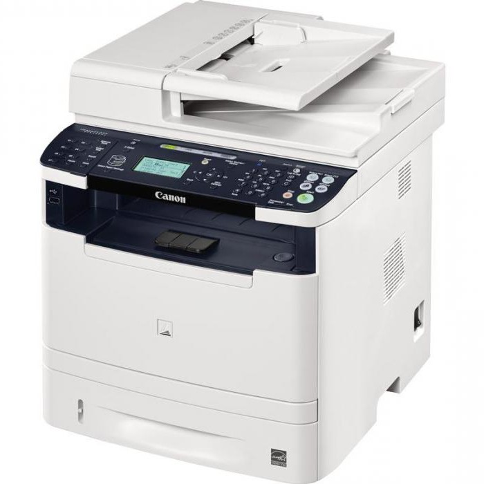 laser printer canon basic settings