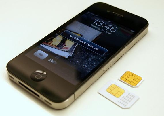 SIM card for iPhone 4
