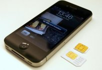 Details on how to insert the SIM card into an IPhone 4